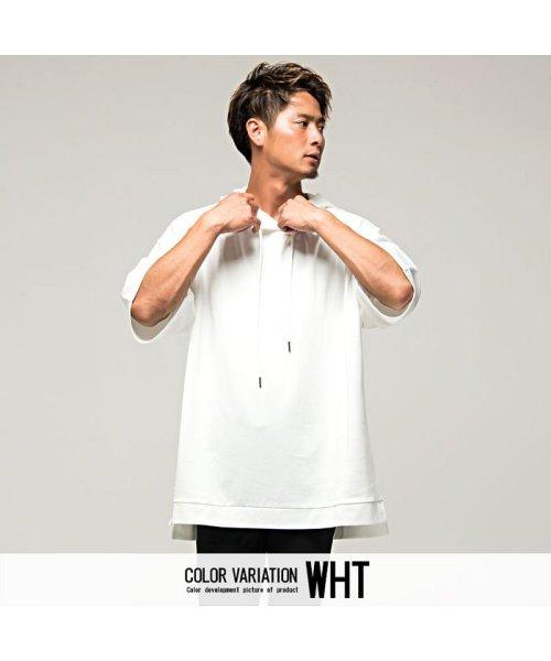 VICCI(ビッチ)/VICCI【ビッチ】メンズ フード付きビッグシルエット6分袖Tシャツ/VIRE18-16_img06