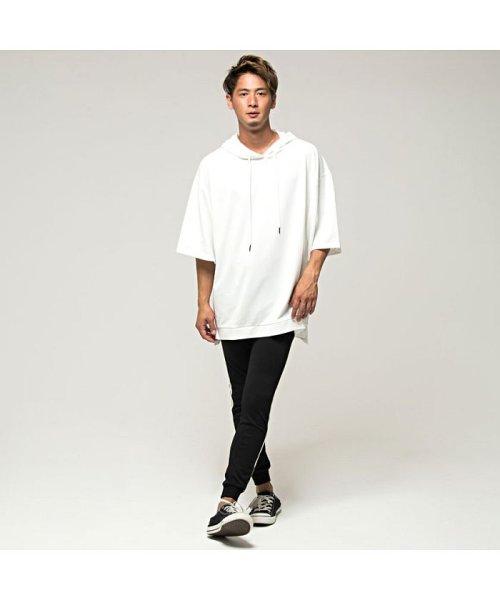 VICCI(ビッチ)/VICCI【ビッチ】メンズ フード付きビッグシルエット6分袖Tシャツ/VIRE18-16_img07
