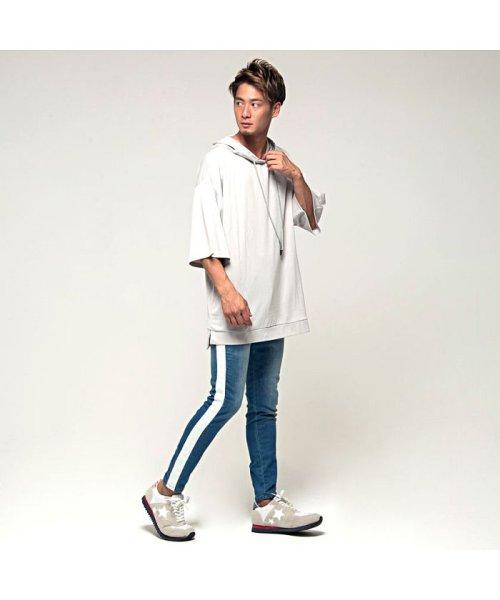 VICCI(ビッチ)/VICCI【ビッチ】メンズ フード付きビッグシルエット6分袖Tシャツ/VIRE18-16_img09