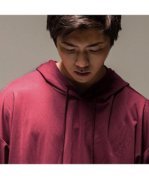 VICCI(ビッチ)/VICCI【ビッチ】メンズ フード付きビッグシルエット6分袖Tシャツ/VIRE18-16_img12