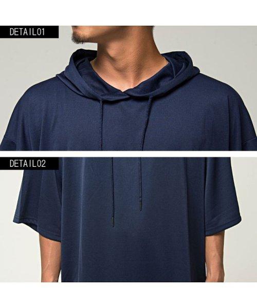 VICCI(ビッチ)/VICCI【ビッチ】メンズ フード付きビッグシルエット6分袖Tシャツ/VIRE18-16_img15