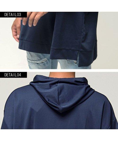 VICCI(ビッチ)/VICCI【ビッチ】メンズ フード付きビッグシルエット6分袖Tシャツ/VIRE18-16_img16