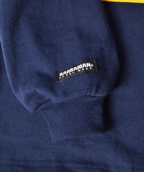 SHIPS JET BLUE(シップス ジェットブルー)/【Begin12月号 掲載】BARBARIAN×SHIPS JET BLUE: 別注 ラガーシャツ/122080063_img05