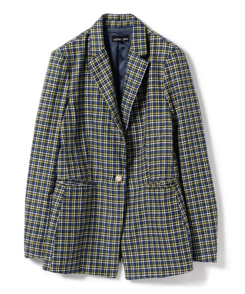BEAMS OUTLET(ビームス アウトレット)/sister jane / Check Blazer/61160101241_img01