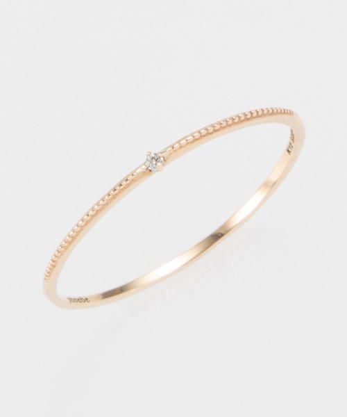 phoebe(フィービィー)/【K10】グリッターダイヤモンドリング/501841354_img03