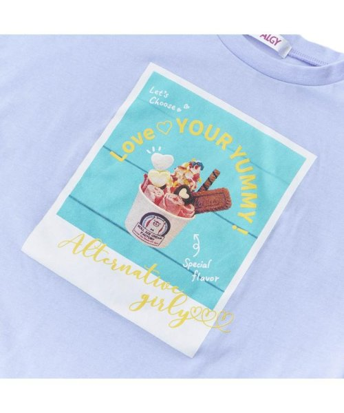 ALGY(アルジー)/RICFコラボりぼん袖T_ロールアイスクリームファクトリー/G407918_img03