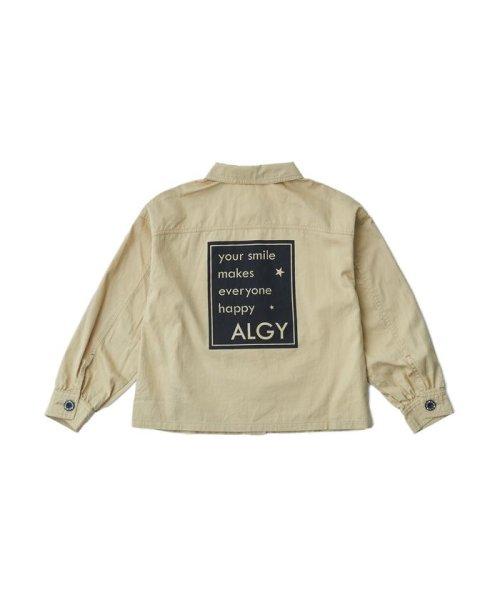ALGY(アルジー)/ミリタリーシャツジャケット/G408018_img01