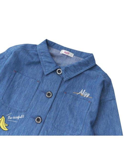ALGY(アルジー)/ミリタリーシャツジャケット/G408018_img03