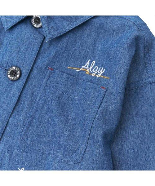 ALGY(アルジー)/ミリタリーシャツジャケット/G408018_img05