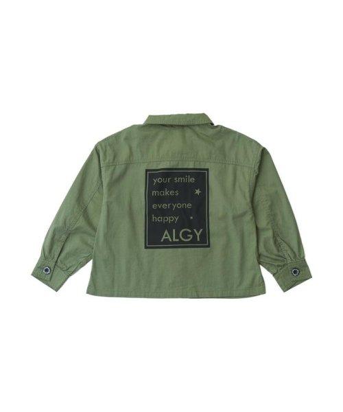ALGY(アルジー)/ミリタリーシャツジャケット/G408018_img12