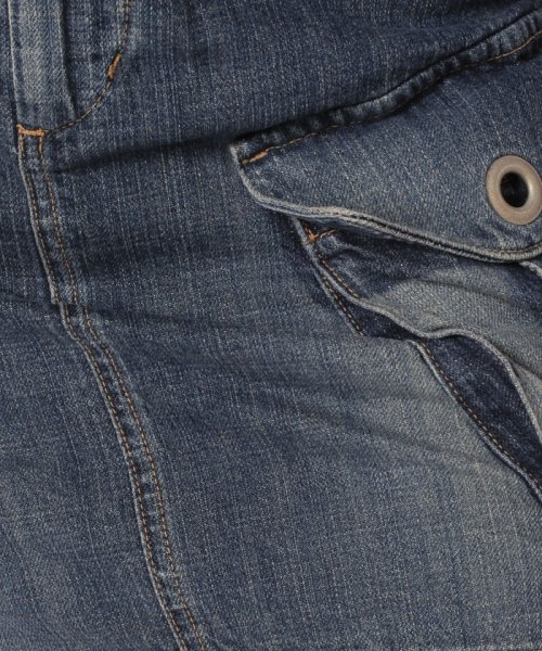 BLUEWAY(ブルーウェイ)/前後フラップポケットデニムスカート/E834_img04