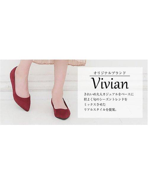 Vivian(ヴィヴィアン)/シンプルプレーンフラットパンプス/V1000ATH_img01