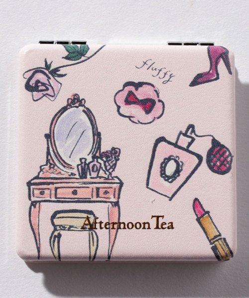 Afternoon Tea LIVING(アフタヌーンティー・リビング)/フェミニン柄ミニミラー/FN8418105833_img01