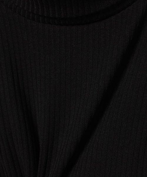 b-ROOM(ビールーム)/テレコタートルネックTシャツ/9883223_img04