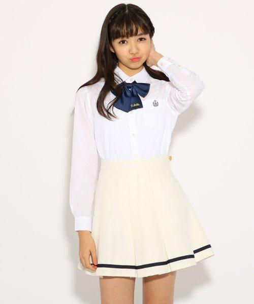 PINK-latte(ピンク ラテ)/【卒服】リボンタイ付 セーラー スカート/99990931971032_img01