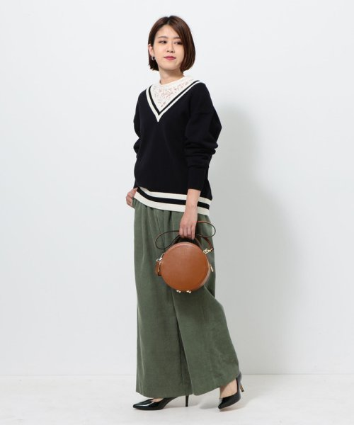 green label relaxing(グリーンレーベルリラクシング)/ELENA FM CIRCLE BAG バッグ/36323431316_img15
