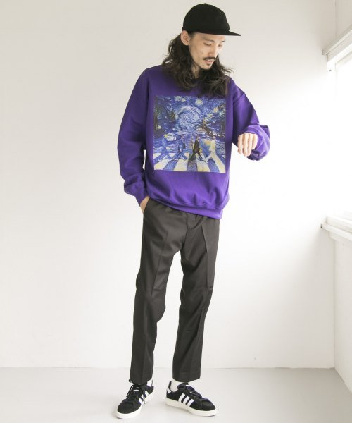 URBAN RESEARCH(アーバンリサーチ)/BOWWOW×URBAN RESEARCH 別注 ROAD CREW-NECK SWEAT/BW-UR02-UM86_img01