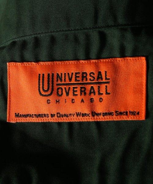 JOURNAL STANDARD(ジャーナルスタンダード)/UNIVERSAL OVERALL×JS WORK SH/ ユニバーサルワークス別注 : WORK  シャツ/18050610002630_img09