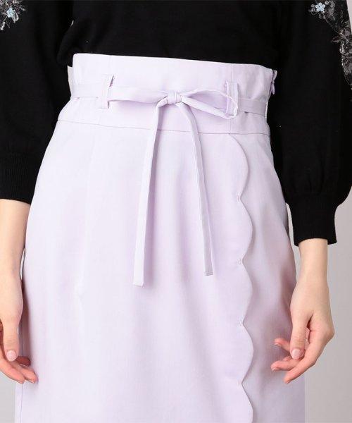 MIIA(ミーア)/ハイウエストスカラップタイトスカート/32831216_img04