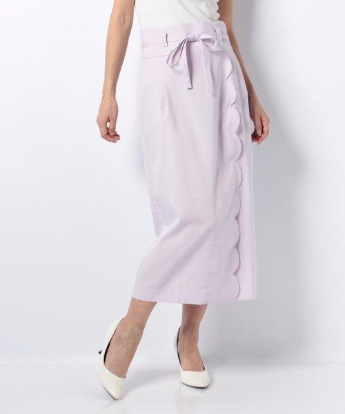 MIIA(ミーア)/ハイウエストスカラップタイトスカート/32831216_img14