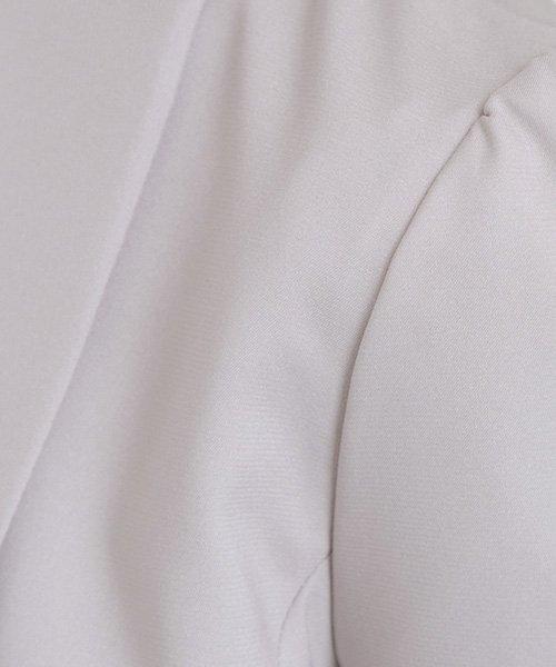 PourVous(プールヴー)/【結婚式・お呼ばれ対応】大人の女性の雰囲気醸し出すショールカラーボレロ/1827_img20