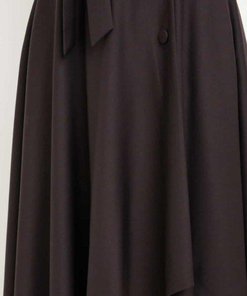 MK MICHEL KLEIN(エムケーミッシェルクラン)/【洗える】イレヘムカラースカート/FKHJD35150_img17