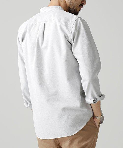 nano・universe(ナノ・ユニバース)/【WEB限定商品】オックスバンドカラーシャツ/6748220002_img05
