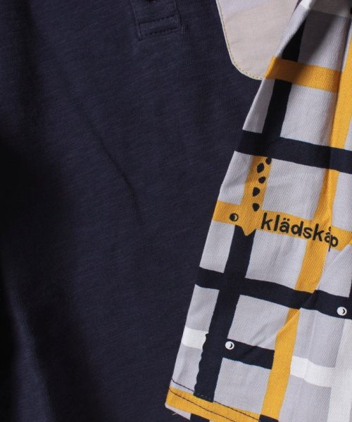 kladskap(クレードスコープ)/動物ポケット前後切り替えTシャツ/5383218_img03