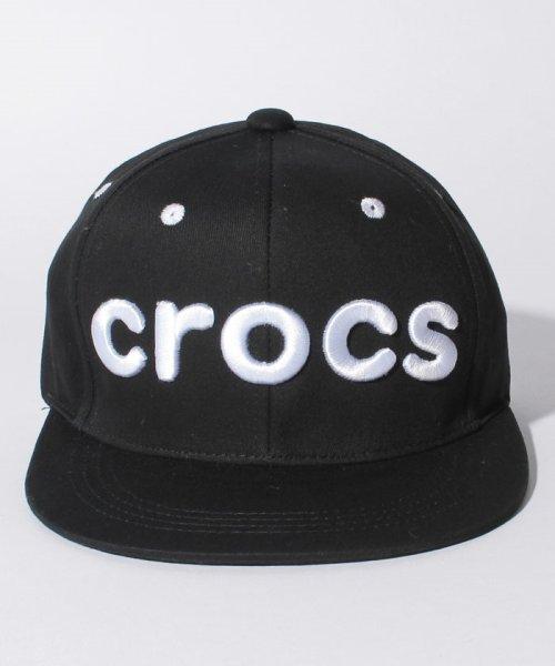 crocs(KIDS WEAR)(クロックス(キッズウェア))/CROCS刺繍ロゴキャップ/148210_img01