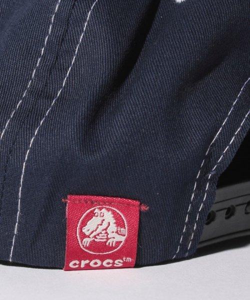 crocs(KIDS WEAR)(クロックス(キッズウェア))/CROCS英字ロゴプリントキャップ/148211_img04