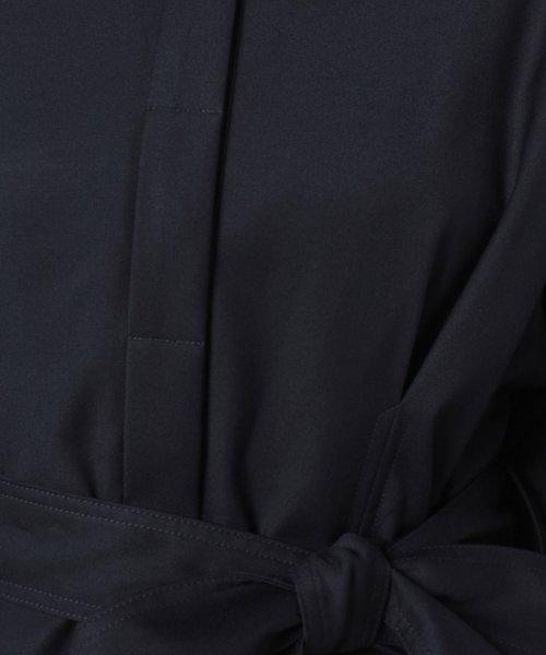 LAPINE BLEUE(ラピーヌ ブルー)/ギャバストレッチガウンコート/238152_img07