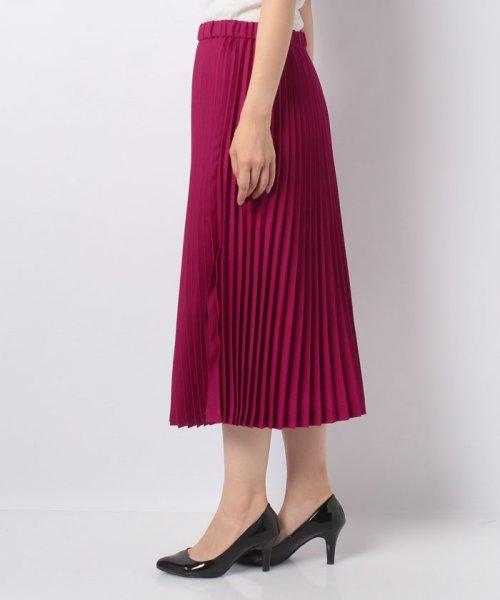 LAPINE BLEUE(ラピーヌ ブルー)/T/W ビエラプリーツスカート/239518_img01