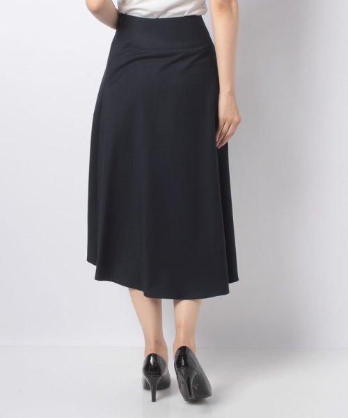 LAPINE BLEUE(ラピーヌ ブルー)/【洗える】ギャバストレッチフレアースカート/239521_img02