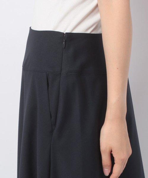 LAPINE BLEUE(ラピーヌ ブルー)/【洗える】ギャバストレッチフレアースカート/239521_img04
