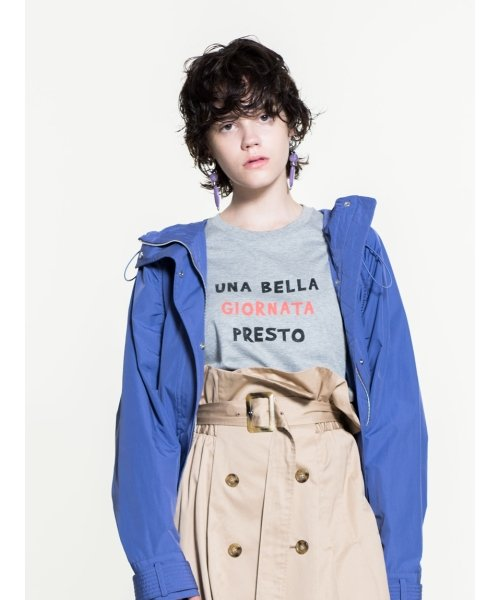 Mila Owen(ミラオーウェン)/3段ロゴTシャツ/09WCT184181_img09