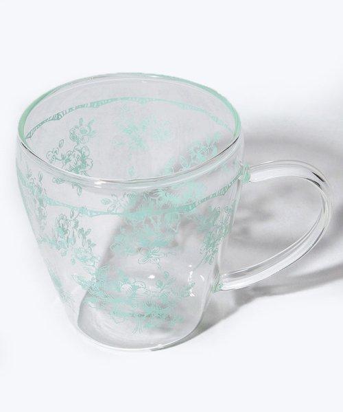 Afternoon Tea LIVING(アフタヌーンティー・リビング)/線画フラワー柄耐熱ガラスマグカップ/FH7718308244_img03