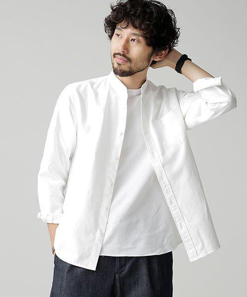 nano・universe(ナノ・ユニバース)/【WEB限定商品】オックスバンドカラーシャツ/6748220002_img15