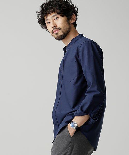nano・universe(ナノ・ユニバース)/【WEB限定商品】オックスバンドカラーシャツ/6748220002_img18