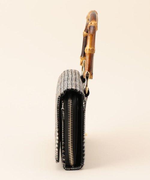 fredy emue(フレディエミュ)/バンブーお財布ショルダーバッグ/8-0553-5-32-107_img01