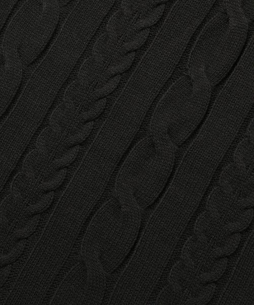 ROPE' PICNIC(ロペピクニック)/【松岡茉優さん着用アイテム】【WEB限定カラー3色】ケーブル編みニットワンピース/GDE68120_img08