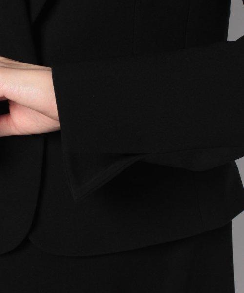 MICHEL KLEIN Noire(ミッシェル クラン ノアール)/【オールシーズン・喪服・礼服・フォーマル用】テーラードカラーアンサンブル・セットアップ/645284_img04