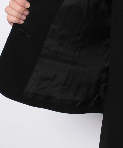 MICHEL KLEIN Noire(ミッシェル クラン ノアール)/【オールシーズン・喪服・礼服・フォーマル用】テーラードカラーアンサンブル・セットアップ/645284_img05