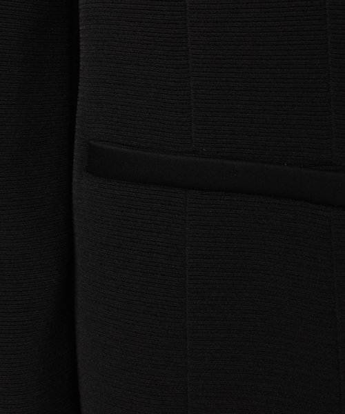 LAPINE FORMAL(ラピーヌ フォーマル)/【オールシーズン・喪服・礼服・フォーマル用】ボーダー生地ドレスレット付きジャケット/476240_img08