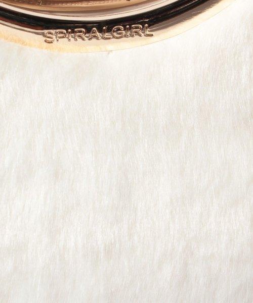 SPIRALGIRL(スパイラルガール)/【SPIRALGIRLスパイラルガール】リップハンドル2WAYスタイルバッグ【フェイクファーバージョン】/7501336_img06