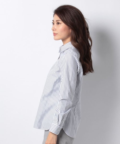 OLD ENGLAND(オールド イングランド)/WEB限定【OEPP】オックスフォードストライプレギュラーカラーシャツ/58806031_img01