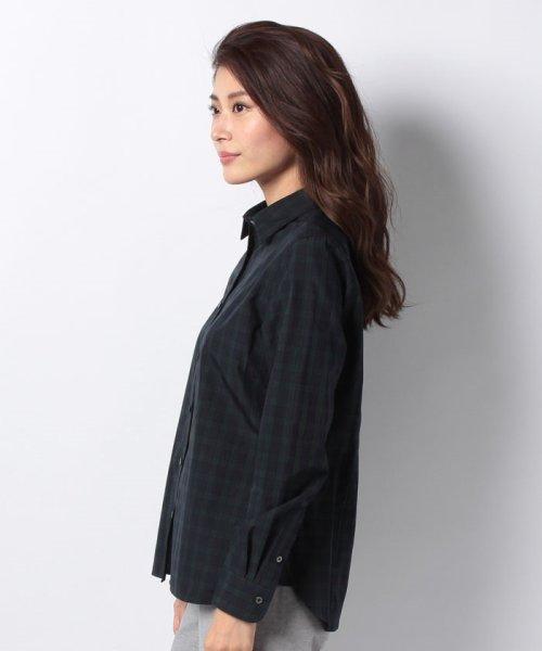 OLD ENGLAND(オールド イングランド)/WEB限定【OEPP】ブラックウォッチレギュラーカラーシャツ/58806051_img01