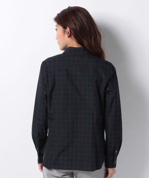 OLD ENGLAND(オールド イングランド)/WEB限定【OEPP】ブラックウォッチレギュラーカラーシャツ/58806051_img02