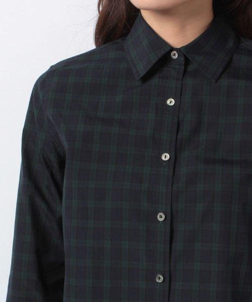 OLD ENGLAND(オールド イングランド)/WEB限定【OEPP】ブラックウォッチレギュラーカラーシャツ/58806051_img03