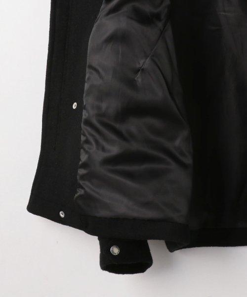 coen(コーエン)/カバーリングウールショートモッズコート(ブラック⇒WEB限定カラー)/75606058115_img30