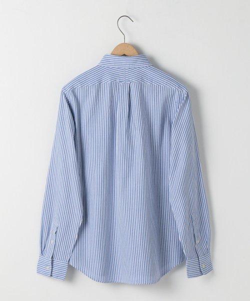 coen(コーエン)/オックスフォードドビーストライプレギュラーカラーシャツ/75106048108_img01